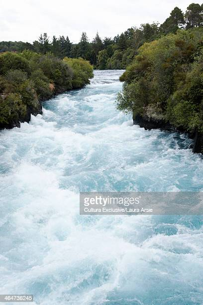 White water rapids, Auckland, New Zealand