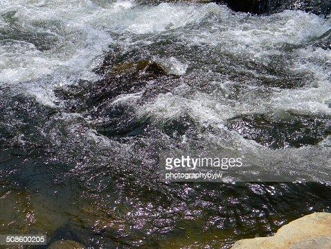 White Water River : Stock Photo