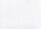 Closeup of white watercolor paper texture or background