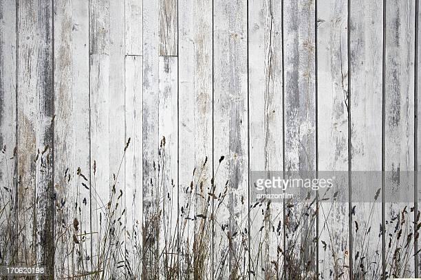 Verwitterte weiß Planken Hintergrund mit stray