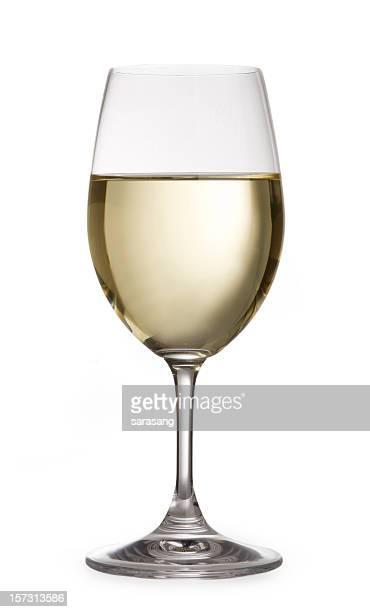 Weißer Wein Isoliert