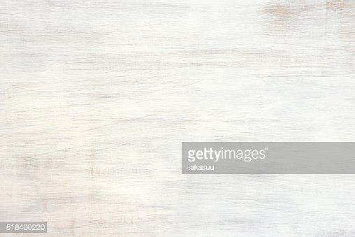Aproximadamente textura de madeira pintada branca : Foto de stock