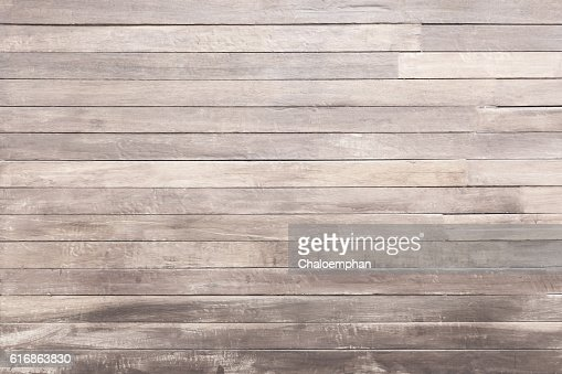 White wood panel background : Stock Photo