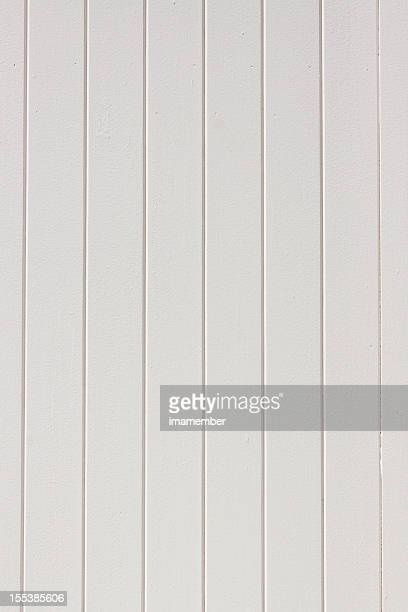 White wooden plank fence, copy space