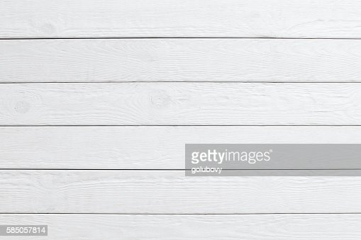 White wooden planks background. horizontal : Foto de stock