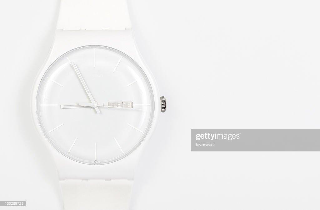white Wrist watch