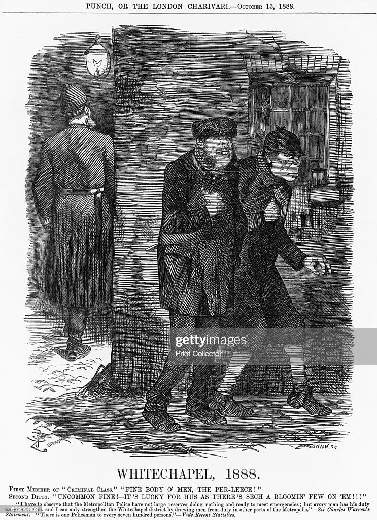 'Whitechapel' 1888 The Whitechapel Murders were making headlines everywhere The police were overstretched particularly in such deprived areas The...