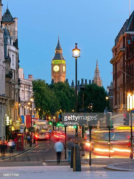 Whitehall street scene, London