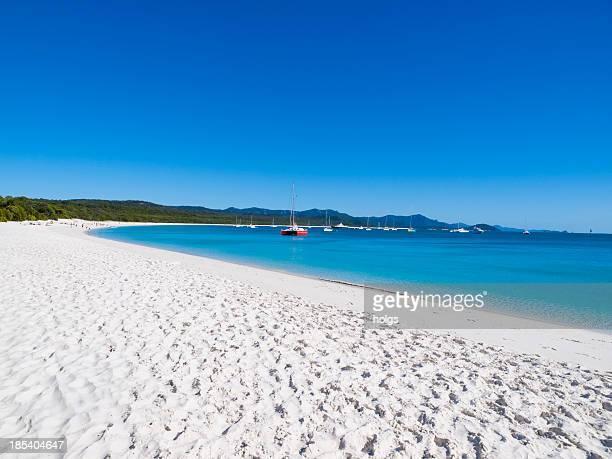 Whitehaven Beach on Whitsunday Island, Australia