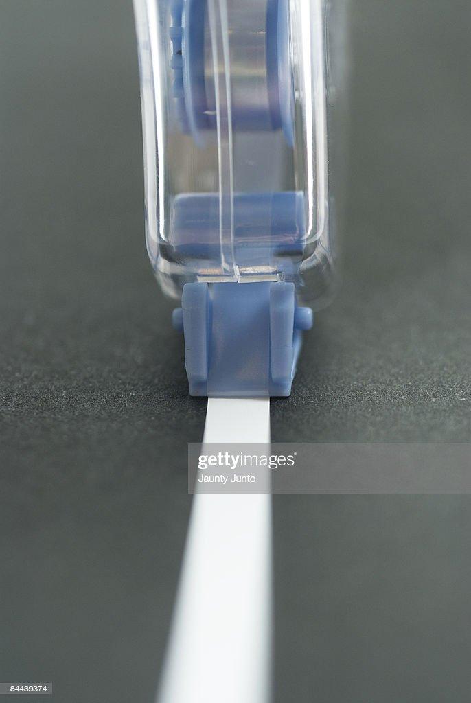 whiteout tape : Stock Photo