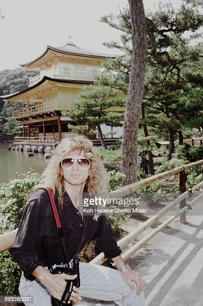 Whitesnake David Coverdale at Kinkakuji Temple Kyoto June 1988