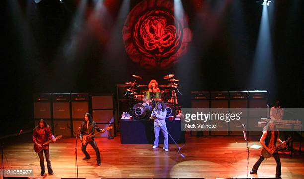 Whitesnake during Whitesnake in Concert at the House of Blues in Atlantic City July 30 2005 at House of Blues at the Showboat Hotel and Casino in...