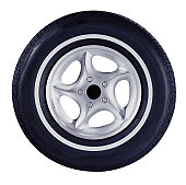 Whitewall Tire
