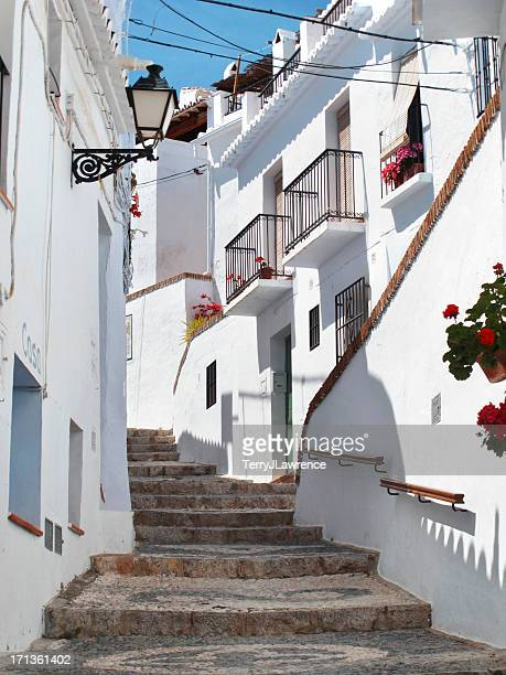 Whitewashed Houses of Frigiliana, Málaga Province, Spain