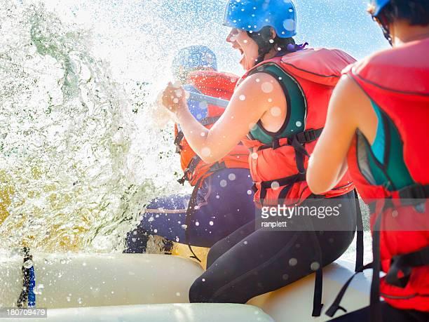 Whitewater Rafting-Spaß