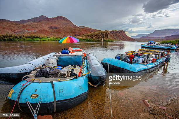 Whitewater Rafting in Colorado river