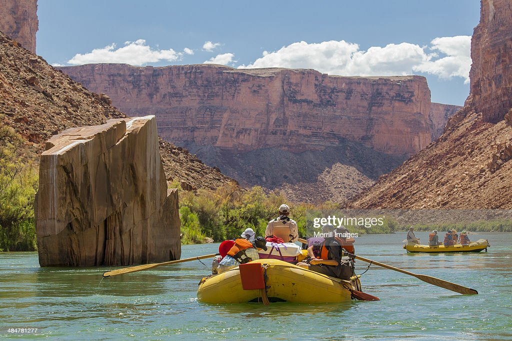 Whitewater Rafting on Colorado River Grand Canyon