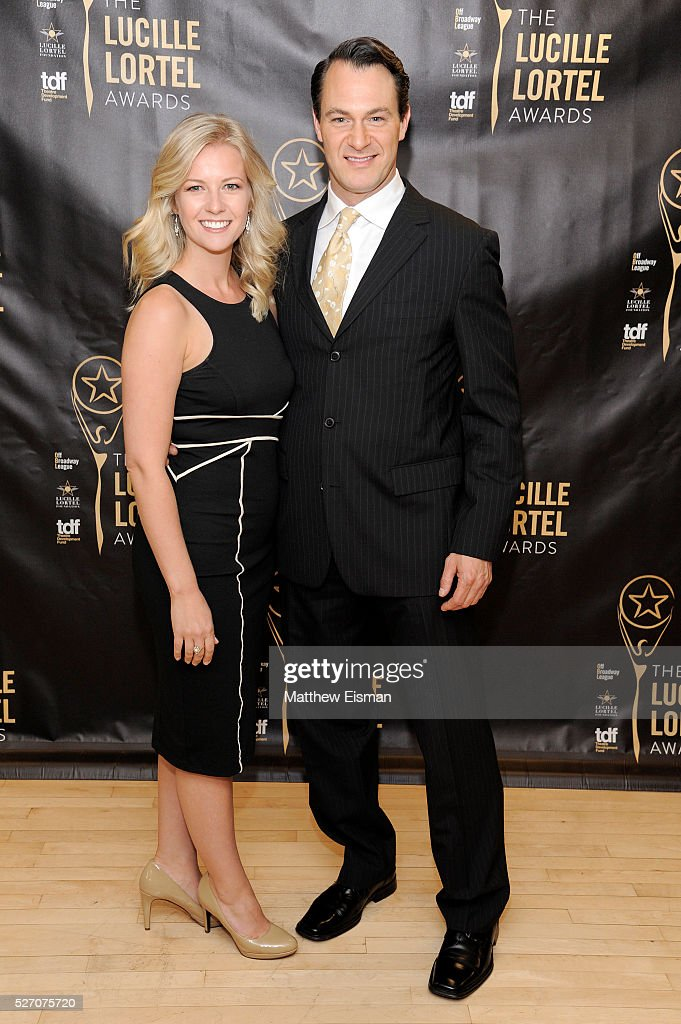 Whitney Bashor and Matt Bogart attend the press room for the 31st Annual Lucille Lortel Awards at NYU Skirball Center on May 1, 2016 in New York City.