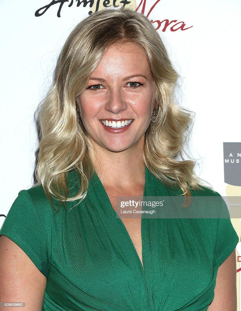 Whitney Bashor attends meet the company of 'Himself and Nora The Musical' at Signature Theater Rehearsal Studios on May 5, 2016 in New York City.