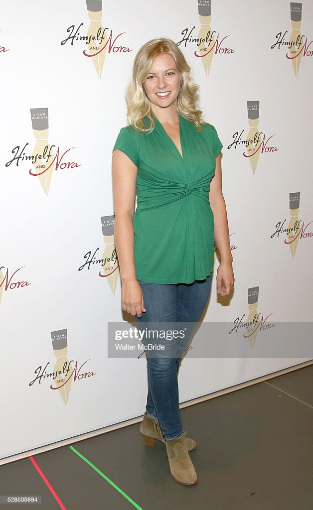 Whitney Bashor during the 'Himself and Nora The Musical' - Press Preview at the Signature Theatre Rehearsal Studios on May 5, 2016 in New York City.