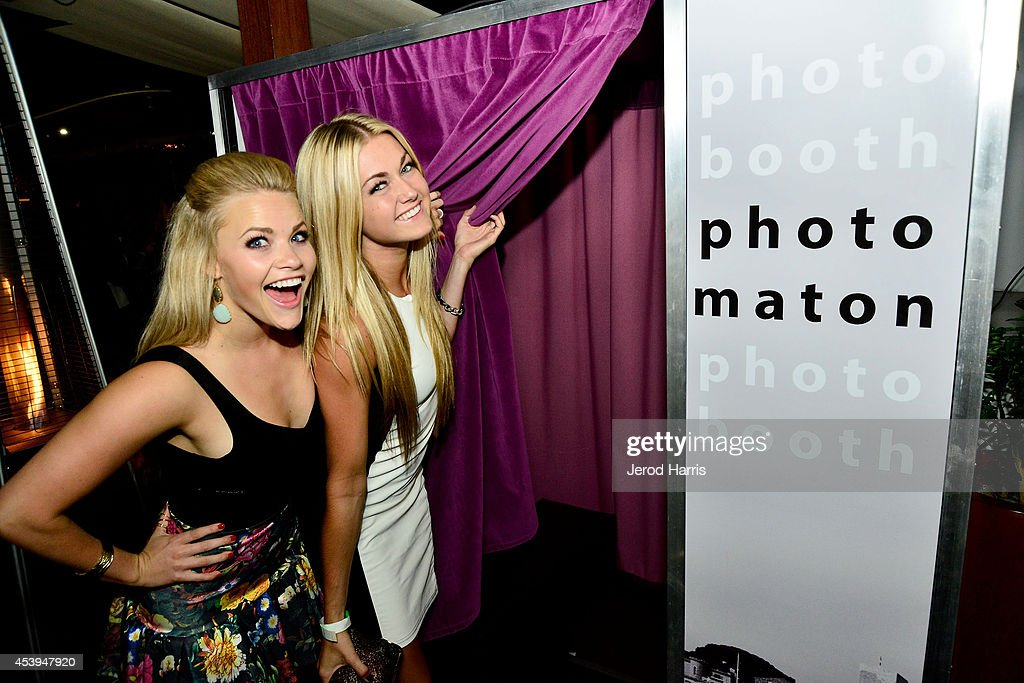 Whitney Carson and <a gi-track='captionPersonalityLinkClicked' href=/galleries/search?phrase=Lindsay+Arnold&family=editorial&specificpeople=10536483 ng-click='$event.stopPropagation()'>Lindsay Arnold</a> attend OK! TV Awards Party at Sofitel Hotel on August 21, 2014 in Los Angeles, California.