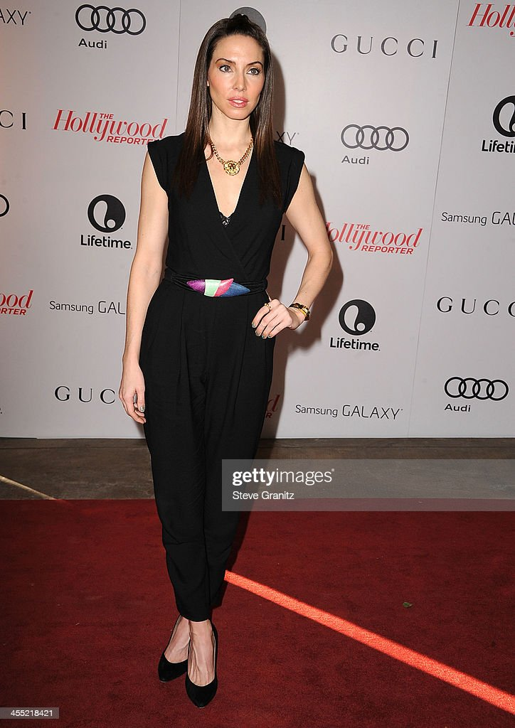 Whitney Cummings arrives at the The Hollywood Reporter's Women In Entertainment Breakfast Honoring Oprah Winfrey at Beverly Hills Hotel on December 11, 2013 in Beverly Hills, California.