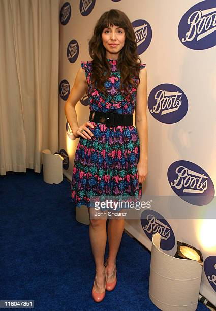 Whitney Cummings during Boots the UK's Number One Health and Beauty Brand Celebrates Its US Launch Red Carpet at Sunset Tower in Los Angeles...