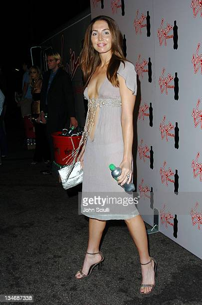 Whitney Cummings during Virgin Cola at the Post MTV Movie Awards Party Red Carpet at Fame @ Xes in Hollywood California United States