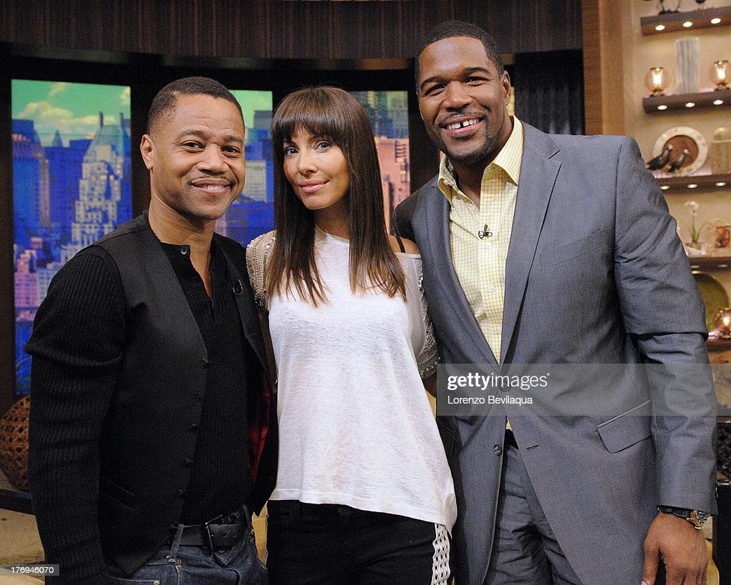 MICHAEL -8/16/13 - Whitney Cummings is Michael's guest co-host and Cuba Gooding, Jr. stops by on 'LIVE with Kelly and Michael,' distributed by Disney-ABC Domestic Television. CUBA