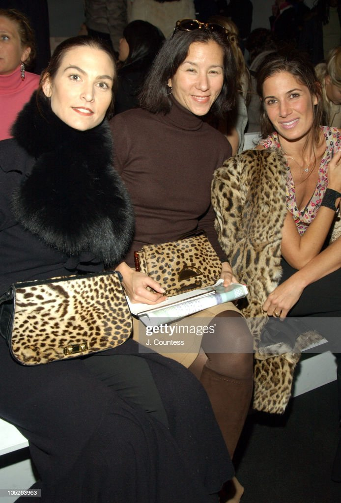 Olympus Fashion Week Fall 2004 - J. Mendel - Front Row and Backstage