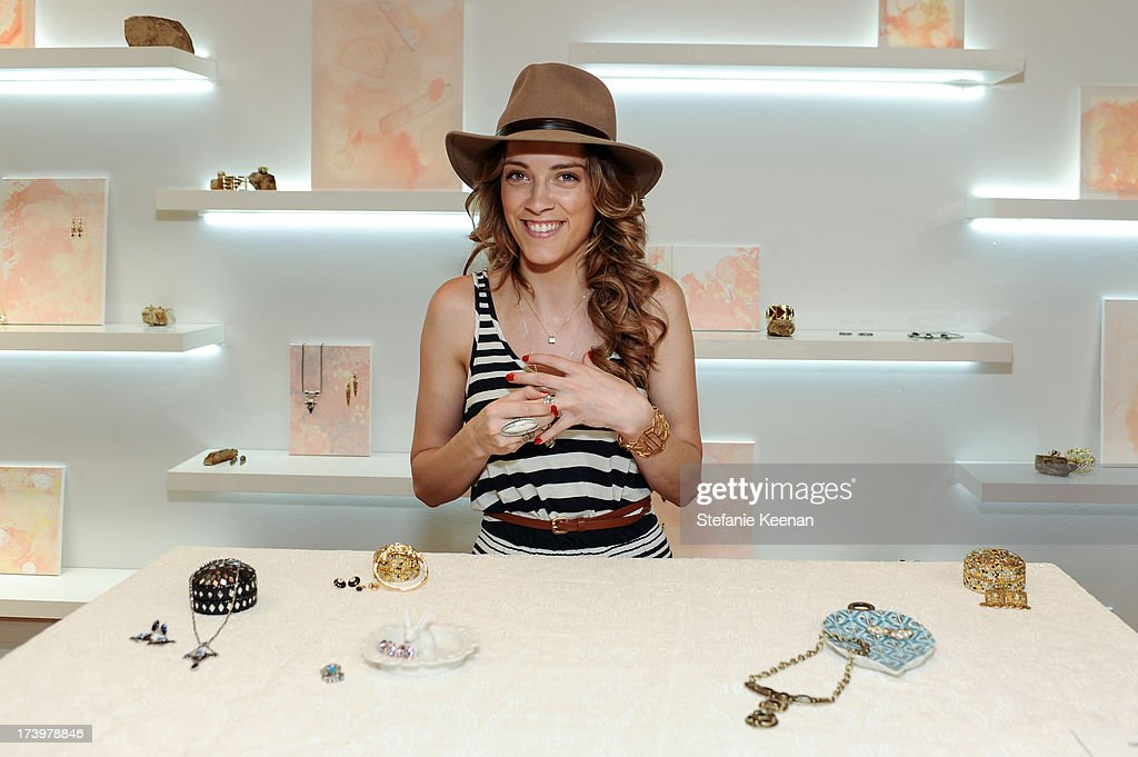 Whitney Heard attends JewelMint Celebrates The Launch Of Collective And Previews New Collections From Cher Coulter And CC Skye at on July 18, 2013 in Los Angeles, California.