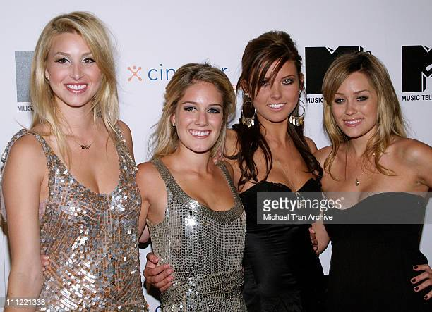 Whitney Heidi Audrina and Lauren Conrad of 'The Hills'