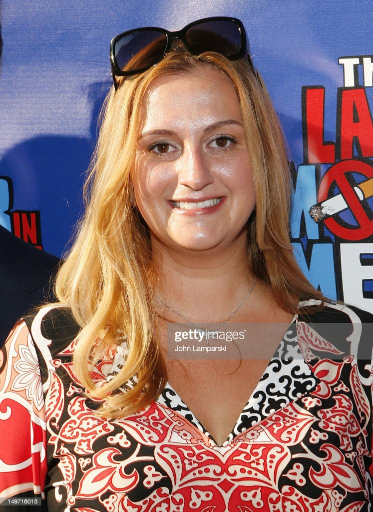 Whitney Hoagwald Edwards attends 'The Last Smoker In America' Hosts 'Smoke-in/Smoke-Out' at The Westside Theatre on August 2, 2012 in New York City.