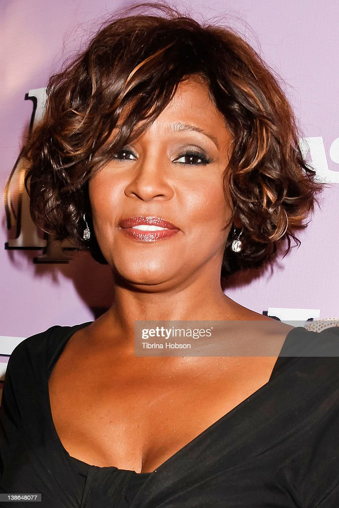 <a gi-track='captionPersonalityLinkClicked' href=/galleries/search?phrase=Whitney+Houston&family=editorial&specificpeople=201541 ng-click='$event.stopPropagation()'>Whitney Houston</a> arrives to the The love of R&B Grammy Party at Tru Hollywood on February 9, 2012 in Hollywood, California.