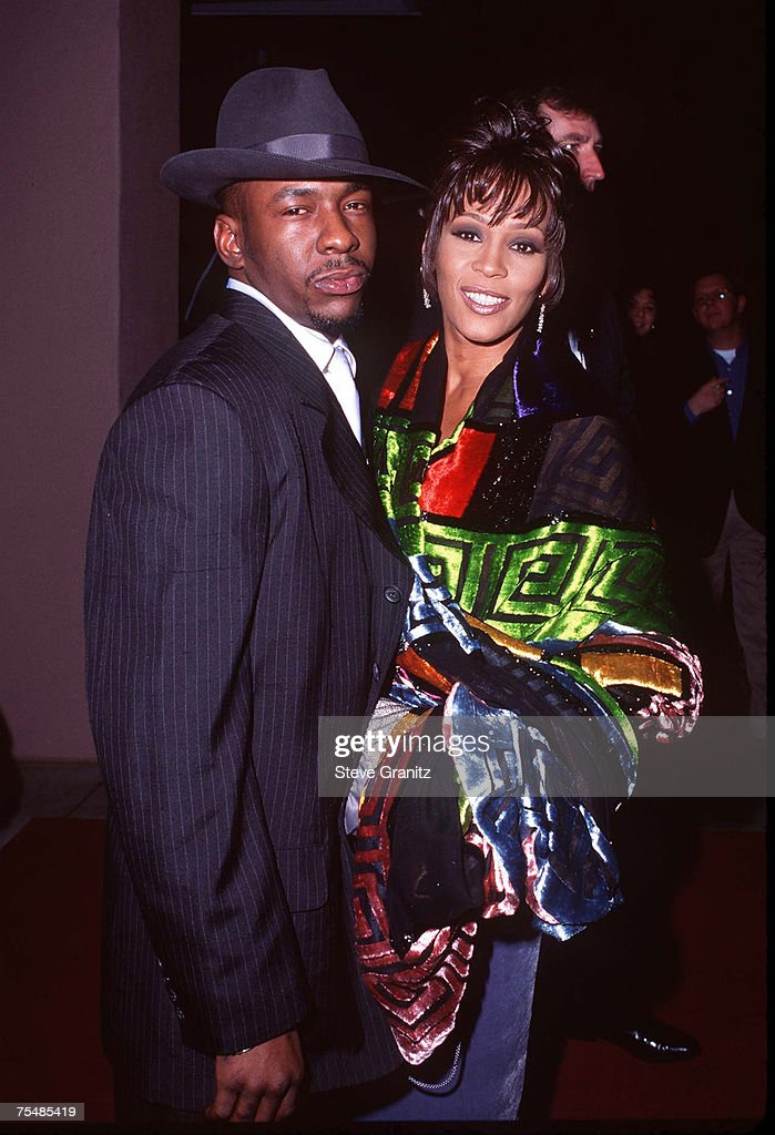 Whitney Houston & Bobby Brown at the Beverly Hills Hotel in Beverly Hills, California