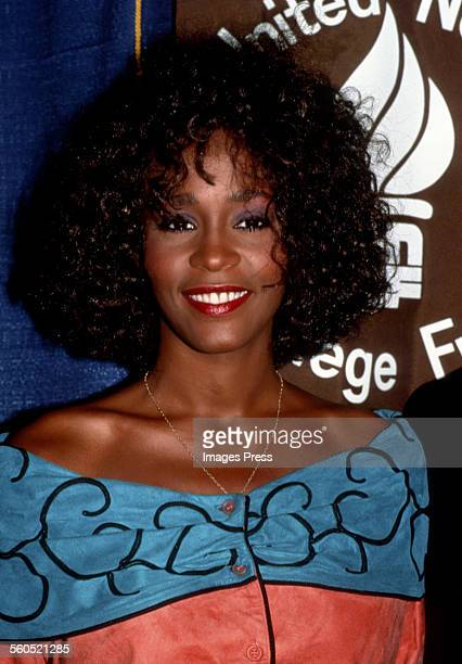 Whitney Houston circa 1988 in New York City