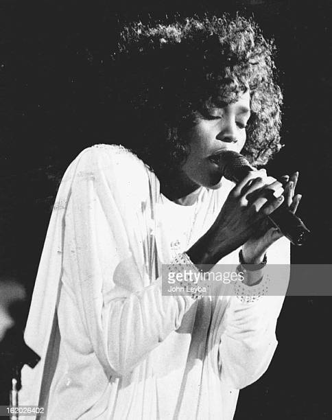 SEP 9 1986 APR 22 1988 NOV 1 1990 APR 17 1991 Whitney Houston delited the crowd tonite at Red Rocks with her charm and beauty She performed in front...