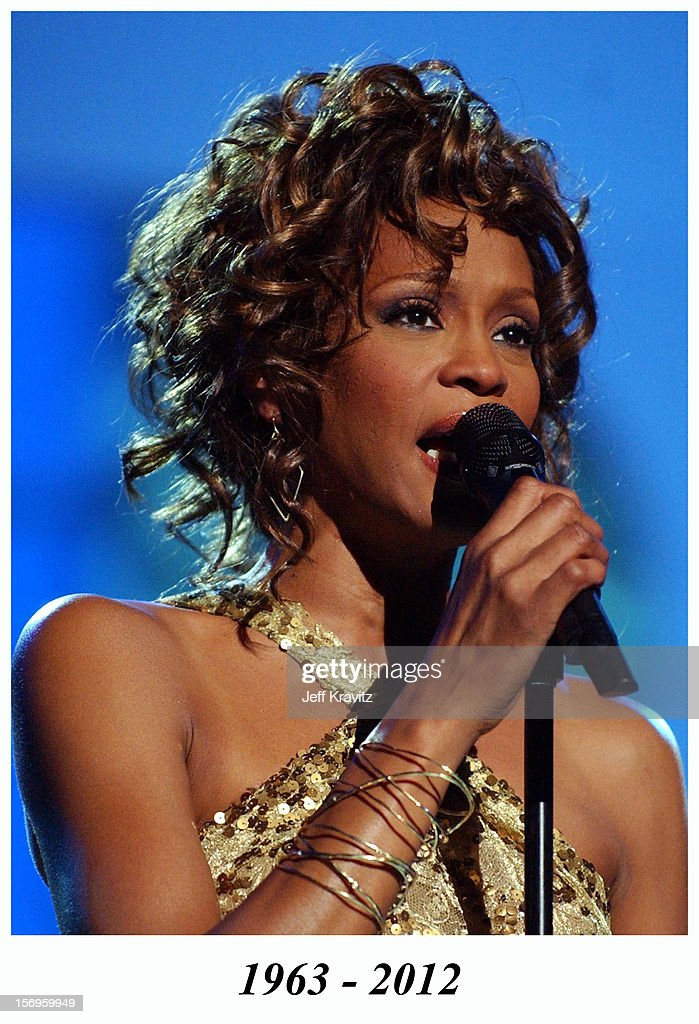 A Concert to Benefit the VH1 Save the Music Foundation - Show at MGM Grand on May 22, 2003 in Las Vegas, Nevada. Whitney Houston died in 2012.