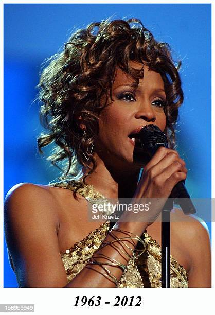 Whitney Houston during VH1 Divas Duets A Concert to Benefit the VH1 Save the Music Foundation Show at MGM Grand on May 22 2003 in Las Vegas Nevada...