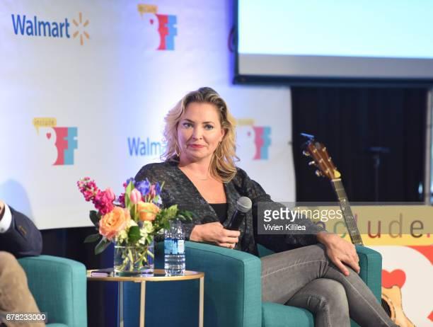 Whitney Kroenke speaks at the 3rd Annual Bentonville Film Festival on May 3 2017 in Bentonville Arkansas