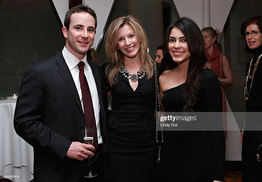 Whitney Mishler, Naysa Mishler and Jasmine Ruiz attend the Gotham Magazine & Moroccanoil Celebrate With Step Up Women's Network event on February 18, 2013 in New York City.