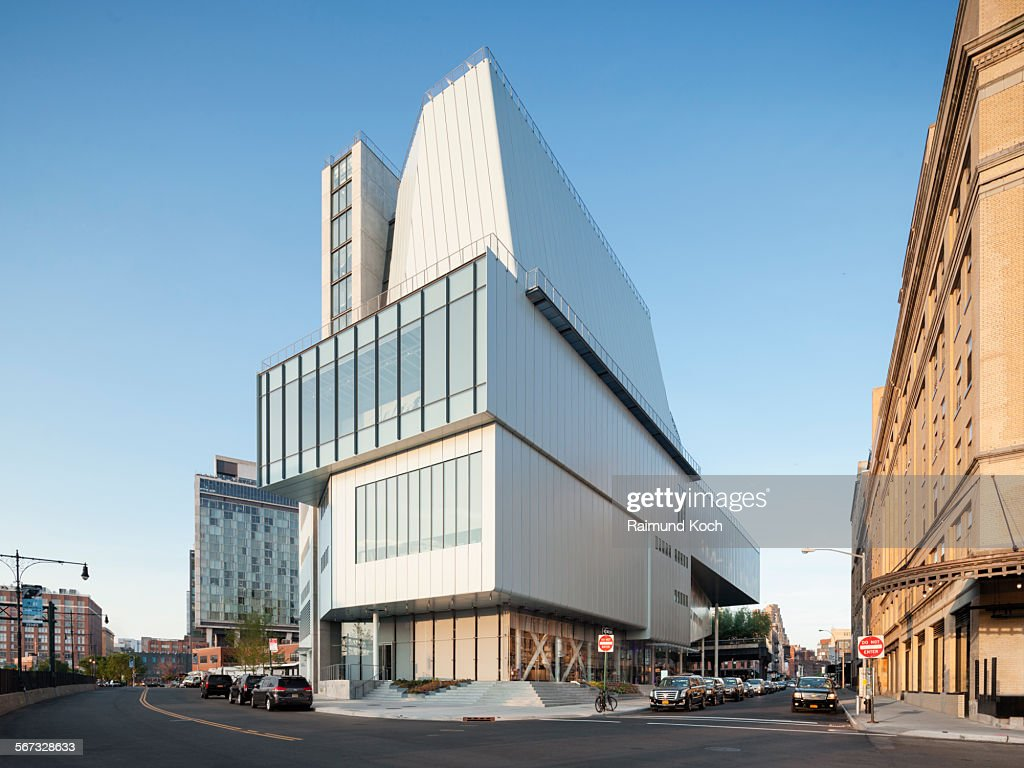 New Whitney Museum in the Meatpacking District of Manhattan
