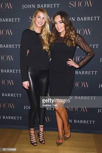 Whitney Port and Tamara Ecclestone attend the SHOW Beauty launch at the John Barrett Salon at Bergdorf Goodman on September 23 2013 in New York City