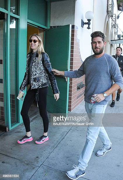Whitney Port and Tim Rosenman are seen on November 10 2015 in Los Angeles California
