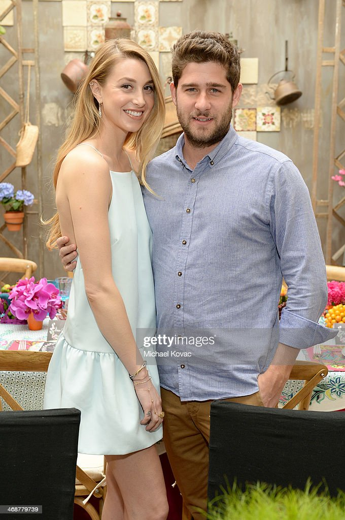 Whitney Port (L) and Tim Rosenman attend Wedding Paper Divas Presents 'Whitney Port's Love Story' at Mari Vanna Los Angeles on February 11, 2014 in West Hollywood, California.