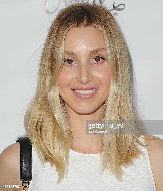 Whitney Port arrives at Create Cultivate's Speaker Celebration at The Line Hotel on March 20 2015 in Los Angeles California