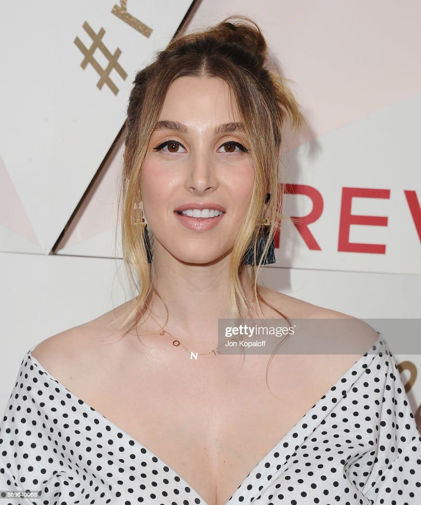 Whitney Port arrives at #REVOLVEawards at DREAM Hollywood on November 2, 2017 in Hollywood, California.