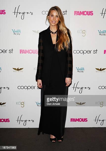 Whitney Port arrives at the Cooper St 25th Anniversary celebration at Hugo's Lounge on November 8 2013 in Sydney Australia
