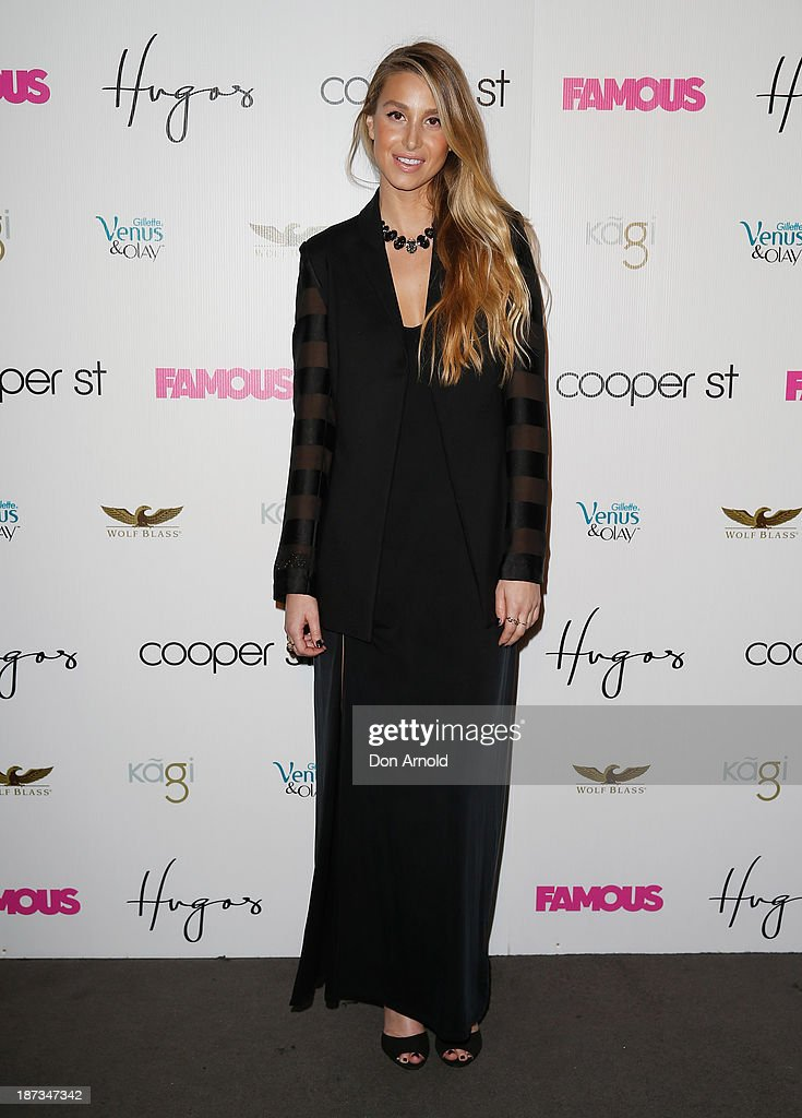Whitney Port arrives at the Cooper St. 25th Anniversary celebration at Hugo's Lounge on November 8, 2013 in Sydney, Australia.
