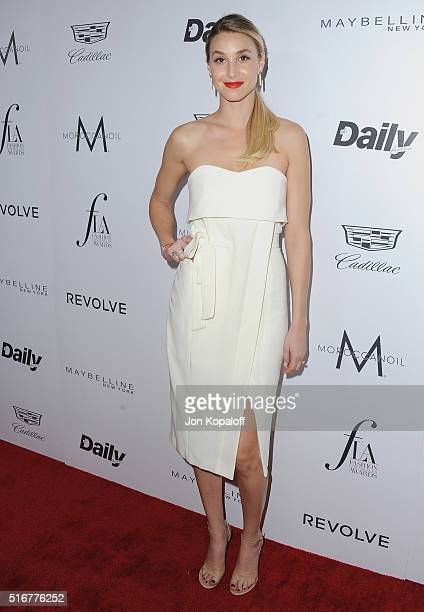 Whitney Port arrives at The Daily Front Row 'Fashion Los Angeles Awards' 2016 at Sunset Tower Hotel on March 20 2016 in West Hollywood California